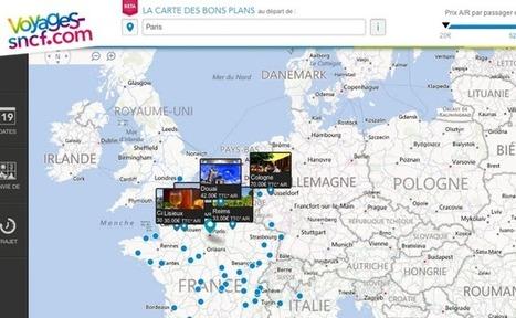 Voyages-sncf.com décline sa marque à travers 13 pays en Europe | Branding News & best practices | Scoop.it