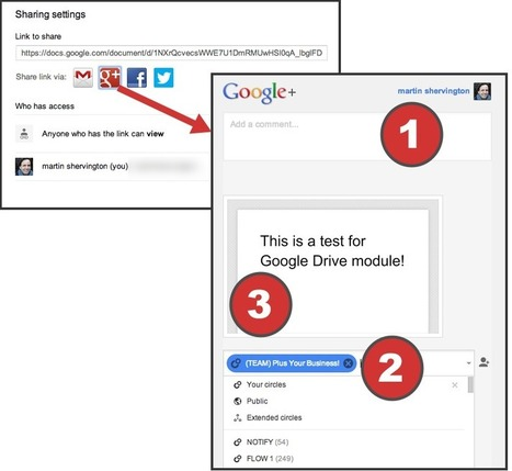 Googe Drive - a complete user guide. - Plus Your Business | GooglePlus Expertise | Scoop.it