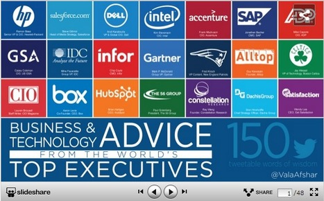 Business & Technology Advice from the World's Top Executives | Starting Your Own Company | Scoop.it