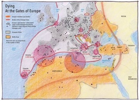 Mapping Europe's war on immigration - Le Monde diplomatique - English edition | AP Human GeographyNRHS | Scoop.it