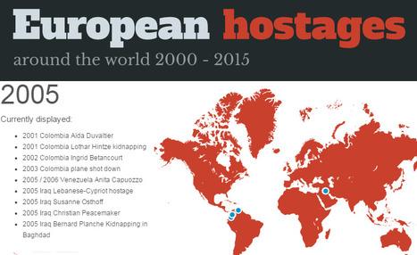 Le datajournalisme appliqué aux enlèvements | DocPresseESJ | Scoop.it
