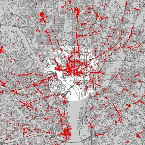 What your city LOOKS like when nearly every store is mapped | URBANmedias | Scoop.it