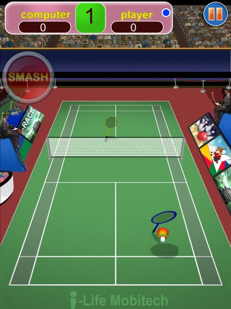 An Ultimate Sports Game| Badminton Club HD | Coming Soon on Appstore By iLife | Upcoming Games and Apps By iLife | Scoop.it
