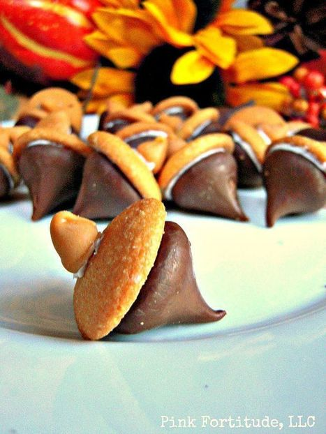 Adorable Acorn Treats To Make This Fall - Pink Fortitude, LLC | ♨ Family & Food ♨ | Scoop.it