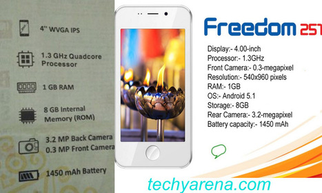 Download Ringing Bells Freedom 251 PC Suite USB Drivers for Windows XP/7/8/10 - Technology Arena | Android | Scoop.it