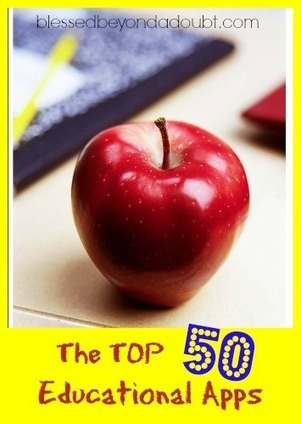 The TOP 50 Educational Apps for Children! - Homeschool recommendations | School Psychology Tech | Scoop.it