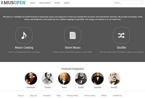 Ecouter de la musique classique en ligne, Musopen | Musique classique en Suisse et ailleurs | Scoop.it