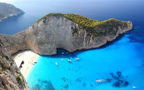#Best #beaches in #Europe 2015 #2. #Navagio Beach in #Greece | travelling 2 Greece | Scoop.it