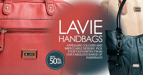 Lavie Handbags | Online Shopping Page | Scoop.it