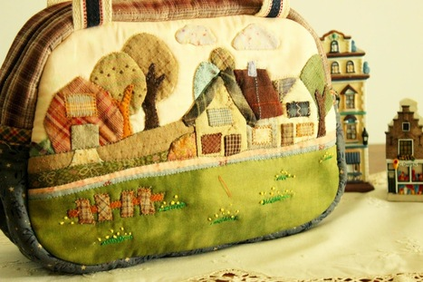 Welcome to Story Quilt: New Tote bag , About Anne, of green gable ? Maybe ^v^ | Patchwork | Scoop.it