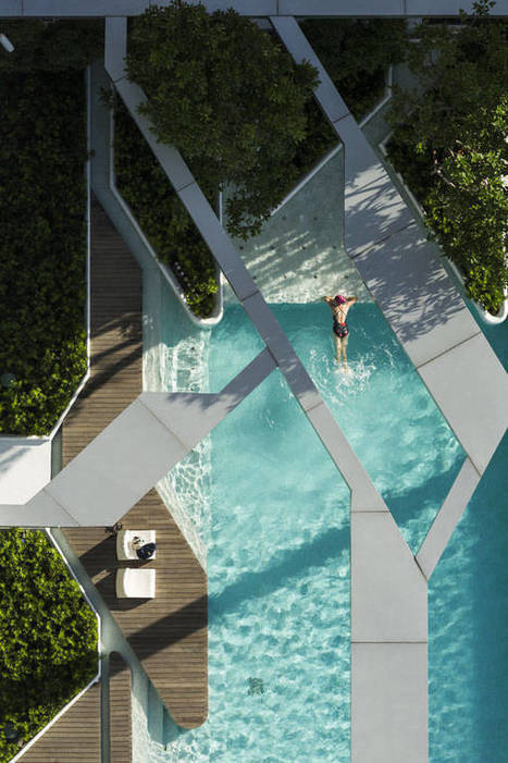 8 Incredible Pools With the WOW Factor | Geometry Math | Scoop.it