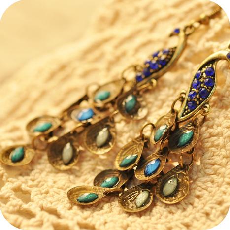 Earrings & Ear Cuffs, Silver & Gold, Studs & Drop Earrings | Accessories for Fashion Women | Scoop.it