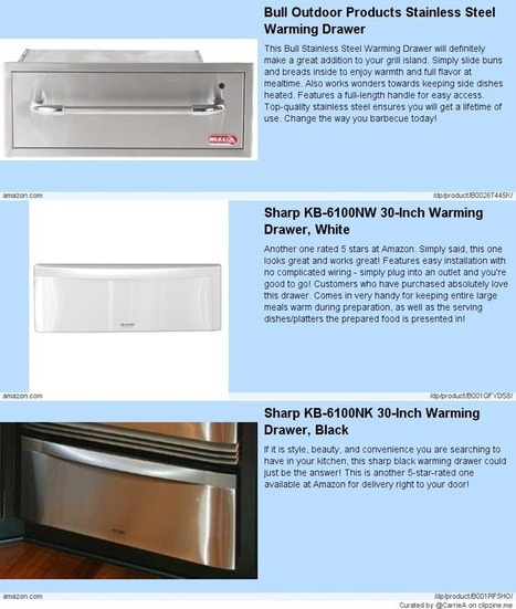 Warming Drawers Comparison - My Favorites! | For the Home | Scoop.it
