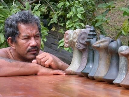 Te keâ pua : La pierre qui « fleurit » le cœur des marquisiens | Tahiti Infos | Kiosque du monde : Océanie | Scoop.it