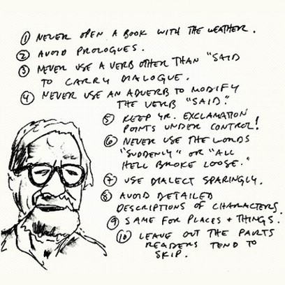 Writing Tips by Henry Miller, Elmore Leonard, Margaret Atwood, Neil Gaiman & George Orwell | Scriveners' Trappings | Scoop.it