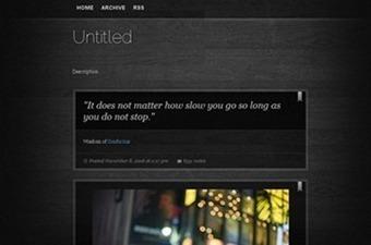 30 Best Free Tumblr Themes   Tumblr Themes   Scoop.it
