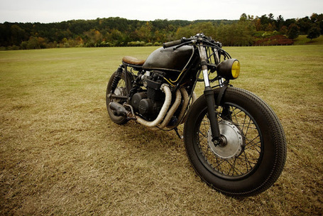 Heartbreak Cycleworks Honda CB550 | Cafe Racers | Scoop.it