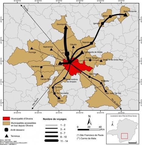 Chroniques / Oliveira : une «ville moyenne» dans le contexte géographique urbain de Minas Gerais ? : Urbanités | Histoire Géographie Sciences sociales | Scoop.it