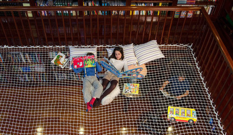 reading net turns libraries into hanging learning labs - designboom | architecture & design magazine | Leave Those Kids Alone! | Scoop.it