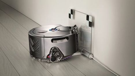 Dyson challenges iRobot's Roomba with its 360 Eye Robot vacuum cleaner | STEM | Scoop.it