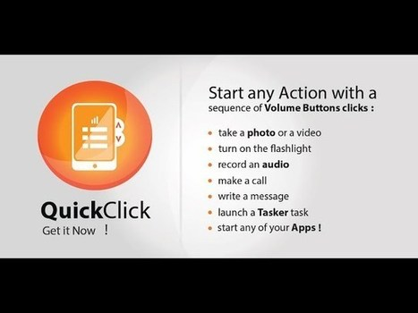 QuickClick Customizes Volume Button Actions, No Root Required | Digital-News on Scoop.it today | Scoop.it