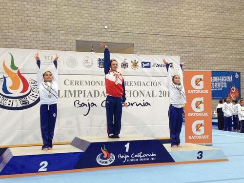 Se consagra Ana Lago en Olimpiada Nacional 2013
