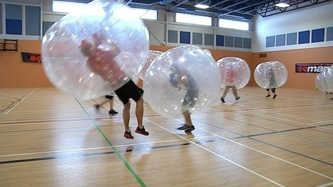 Le Bubble Football | CRAKKS | Scoop.it