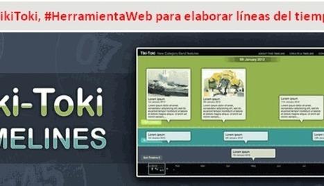 #TikiToki, #HerramientaWeb para elaborar líneas del tiempo   ProfesorOnline   Educar con las nuevas tecnologías   Scoop.it