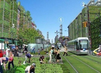 Terreform ONE Proposes Covering NYC With Vertical Gardens & Urban Farms to Become Self-Sufficient | Arrival Cities | Scoop.it