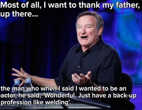 Losing Robin Williams—The Dark Side of Those Who Make Us Laugh | Literary Productivity | Scoop.it