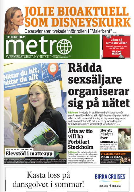 Metro rédigé par une agence de presse | DocPresseESJ | Scoop.it