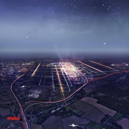 Stansted Airport Proposal / Make Architects | glazingrefurb.org | Scoop.it