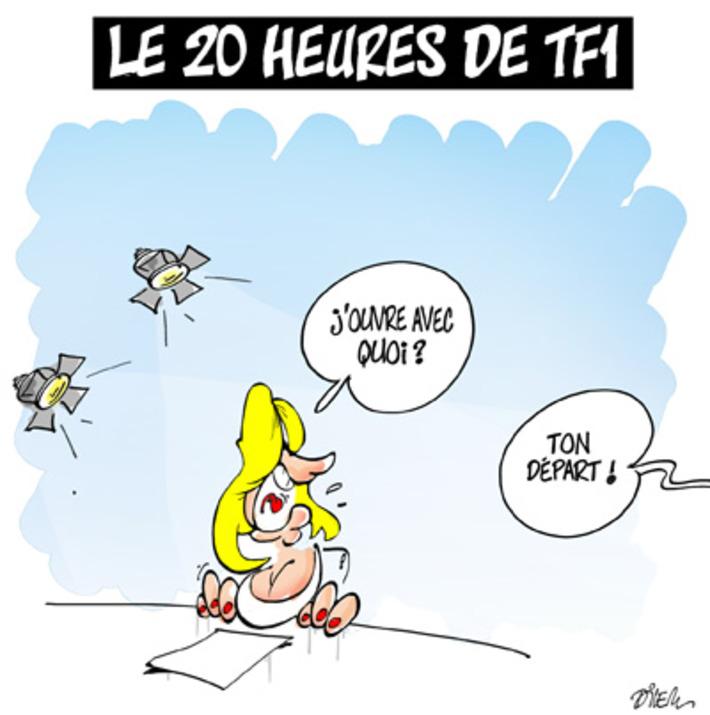 La bonne nouvelle de TF1 ! | Baie d'humour | Scoop.it