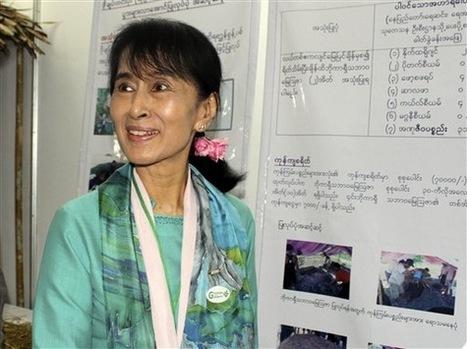 La Birmane Aung San Suu Kyi, âme vivante de la résistance | La-Croix.com | La résistance politique d'Aung San Suu Kyi en Birmanie | Scoop.it