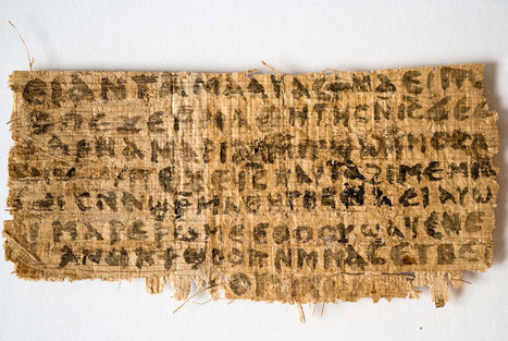 Vatican paper L'Osservatore Romano weighs on 'Jesus' Wife' Coptic papyrus fragment: fake | Archaeology News | Scoop.it