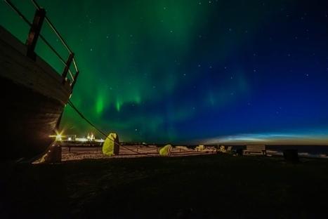 nuage #noctulescent et #aurore boréale à #Churchill au #Manitoba #Canada | Arctique et Antarctique | Scoop.it