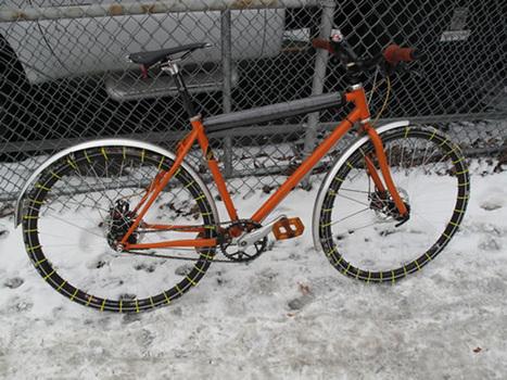 La piste cyclable » Les pneus d'hiver pour les vélos | Le vélo rigolo | Scoop.it
