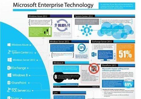 Microsoft's Enterprise Technology [Infographic] | Marketing in IT | Scoop.it