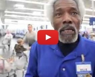 Mr. Willie the Walmart Greeter goes BAM! - 22 Words | The Devil In Disguise | Scoop.it