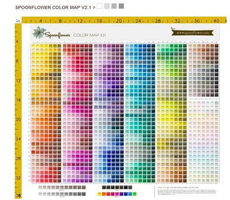 Spoonflower changes its color profile | Artdictive Habits : Sustainable Lifestyle | Scoop.it