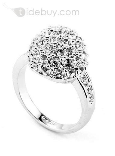 Concise New Arrival Alloy Rhinestone Ring | Bellaboy | Scoop.it