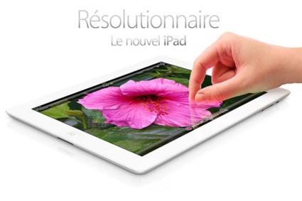 Les atouts séduction du « nouvel iPad » | Tablettes tactiles et usage professionnel | Scoop.it