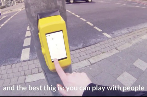 Video: Streetpong is the cure for pedestrian boredom | Cars and Road Safety | Scoop.it