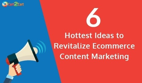 6 Hottest Ideas to Revitalize E-Commerce Content Marketing   Cart2Cart   Scoop.it