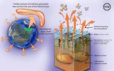 Enormous Methane Releases from the Arctic Shelf | Application for Seismometers in the study of earthquakes | Scoop.it