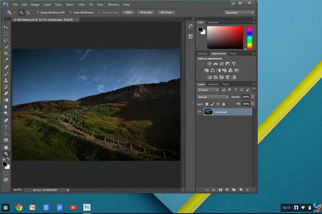 Checking out Photoshop for Chromebooks: Network-computing revived - CNET | Scan2Shop | Scoop.it