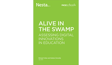 Alive in the Swamp: assessing digital innovations in education - Nesta | Blended Learners | Scoop.it