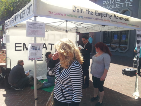We deployed the Empathy Tent today, Saturday, Mar 28 at the downtown Berkeley BART station | Empathy and Compassion | Scoop.it