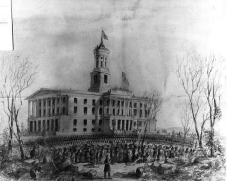 Nashville fell to Union 150 years ago today _ pic from #tsla | Tennessee Libraries | Scoop.it