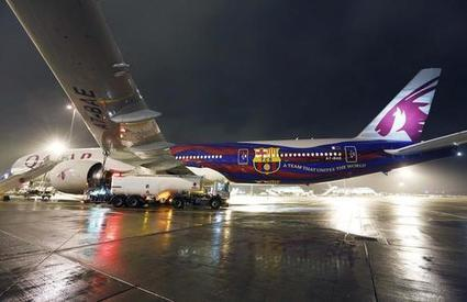 Qatar Airways unveils FC Barcelona livery | Allplane: Airlines Strategy & Marketing | Scoop.it